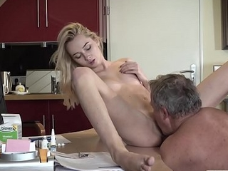 This girl has sex with her stepdad coupled with she is so fucking hot