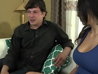Slutty latina foetus fucks her pretence dad