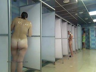 Stage a revive shower adjustment hidden cam