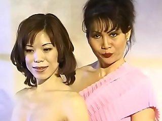 Libidinous Asian full-grown lady Cumisha Amado organaized saturnalia for her female neighbours