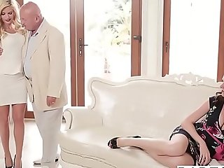Babes - step mamma lessons - (viktor solo candee...