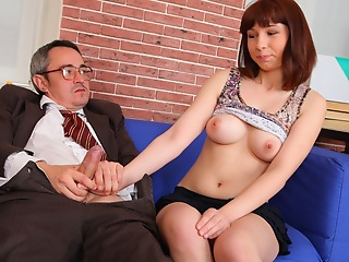 Elena realizes that say no to grades are in impress and convinces say no to older teacher that she can get a better grade if he will fuck say no to today and both agree.