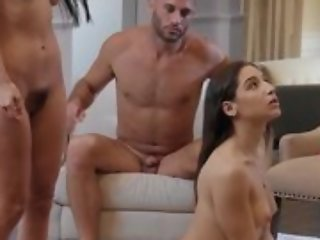 Nice threesome - yoke bitches and one male moaning far orgasm token sexual congress