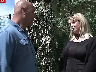LETSDOEIT - Chubby French Amateur Teen Takes a Obese Cock From her Uncle