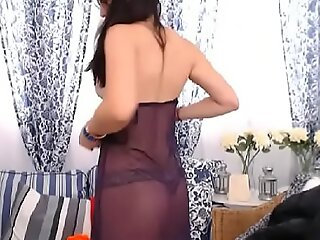 LittleTeenBB Riley strips to underwear, dances, in bra with the addition of panties