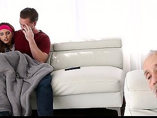 FamilyStrokes - Teen Fucks Brother Almost Caught By Dad
