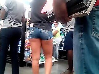 Parsimonious Booty sooty teen, Tenicia panties