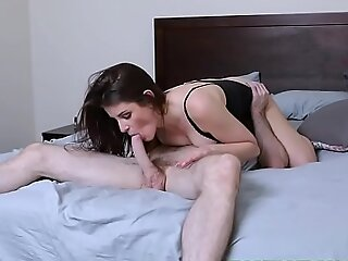 Brunette Teen Michele James With Big Tits Gets Fucked Hard by Her Stepbrother