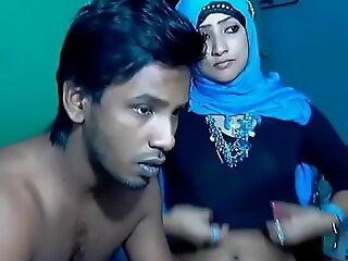 新婚南印度夫妇与超热宝贝网络摄像头代表(7)