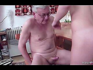 德国爷爷-19 Jahre altes Teen wird von 71 Jahre alten Opa gefickt