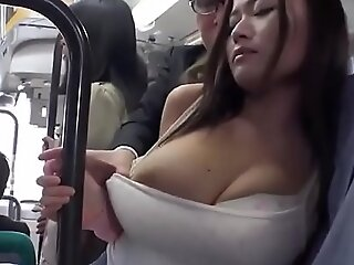 Asian Babe Gets Fucked On Along to School