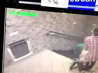 Thorough hidden camera sex