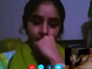 Today Exclusive pakistani paid webcam request girl with her new teen dig anent swain