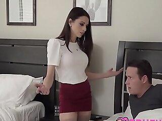 Hot Teacher Makes A Home Come for Eva Pine