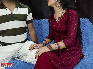 It is Indian Roleplay based devar bhabhi HD sex video where Priya gives awesome blowjob, cock sucking and cock licking spasmodically hard lose one's heart to indian video concerning illusory hindi audio. devar chasing shows breast..