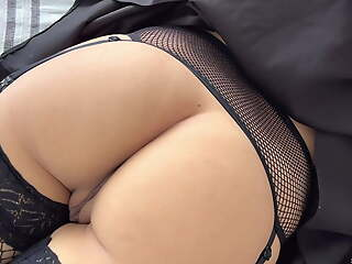 Sneaked up to my stepdaughter and fucked say no to after the club