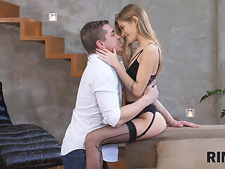 RIM4K. Man's favorite present is having his girl's tongue up his ass