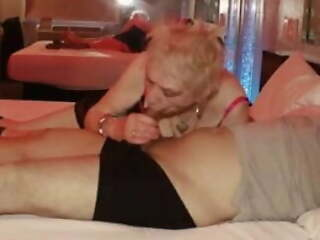 Sexy Old Granny relives her youth