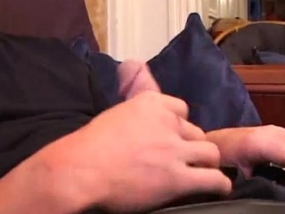 Young Shane Strokes and Gets A Handjob
