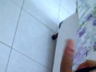Punheta Matinal cheio de Tes&atilde_o!! SAMPAIOOO / teenage caitiff public schoolmate masturbate