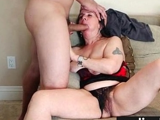 Hairy Twat Hot Teen Filled With Cum 1