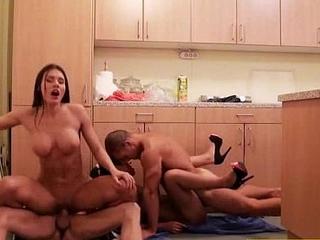 (kitana vivien) Sluty And Party Tasteless Girls In Group Sex Step video-25