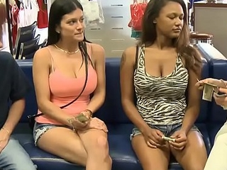 Amateur girls offered cash to show their tits or enjoyment from on cam