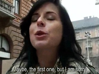 Amateur Czech is picked not far from in the streets &amp_ paid to model &amp_ fuck 11