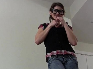I want to you cover my glasses relative to your cum JOI
