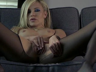 Sensual tease comes more intense orgasm