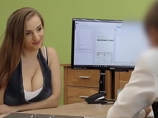 LOAN4K. Hot sex in the loan office of Suzie Sun and tricky superintendent